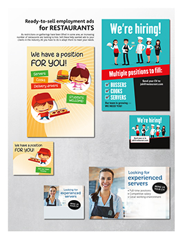 Newspaper Toolbox ready to sell advertising templates example 08